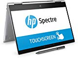 HP Spectre x360 13-ae000ns - 13.3' FullHD Convertible Laptop (Intel Core i5-8250U, 8 GB RAM, 128 GB SSD, Intel Graphics, Windows 10), couleur argent - clavier espagnol QWERTY