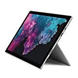 Microsoft Surface Pro 6 - Portable 2 en 1, 12.3'' (Intel Core i5-8250U, 8GB RAM, 128GB SSD, Intel Graphics, Windows 10) couleur argent + étui avec clavier QWERTY bleu espagnol